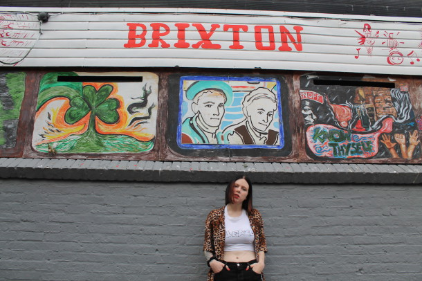 Misty Miller outside Windmill Brixton