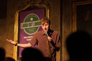 James Acaster will be at the next Brixton Laugh Out London night