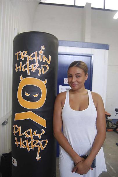Shanice Shield-Mills, a university graduate and friend of Dwayne Simpson