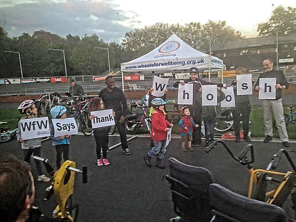 Whoosh cycling event
