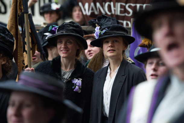 Carey Mulligan stars in festival opener Suffragette. Photo courtesy of Pathé UK