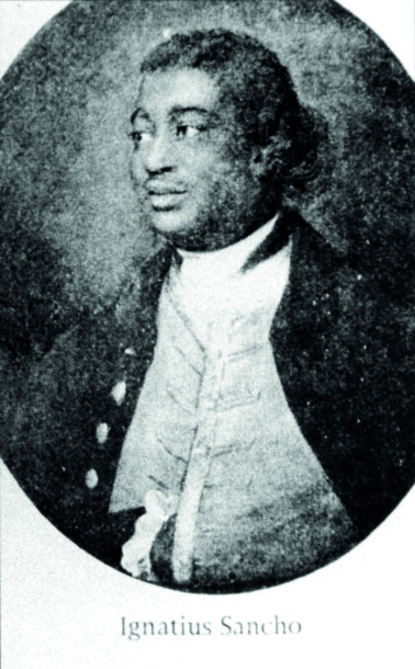 Ignatius Sancho. Reproduced with kind permission of Black Cultural Archives
