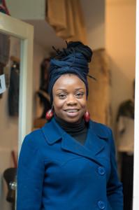 Brixton-based designer Leona Simms