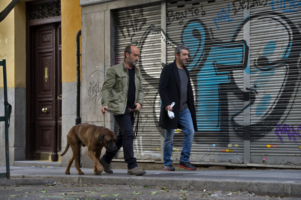 Ricardo Darín and Javier Cámara in Truman. Image courtesy of Filmax International