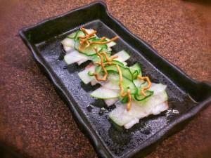 Nanban dish of eel