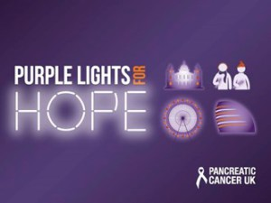 purple lights for hope