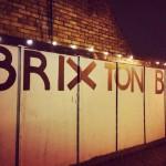 night illumination at a Brixton Bloc