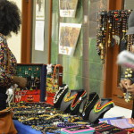 Exhibition of traditional artefacts during the event