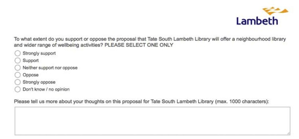 The Tate South question