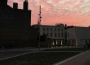 Dawn over Windrush Square