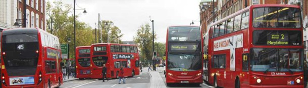 Buses in Brixton