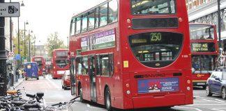 Traffic on Brixton Road