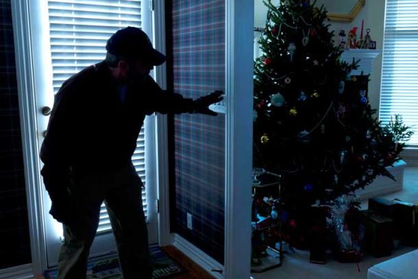 Xmas burglar
