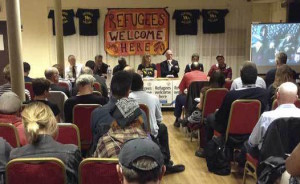 A solidarity delegation to Calais refugees was organised in Brixton earlier this year