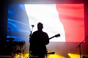 New Order France tribute. Photo by Nick Pickles