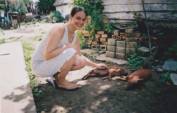 Author Leila Segal in Cuba