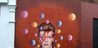 Bowie mural