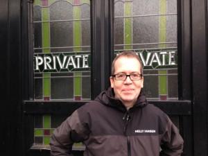 Save the Half Moon pub campaigner Peter Blair