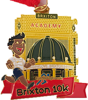 RunThrough Brixton Badge