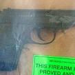 Gun in police bag