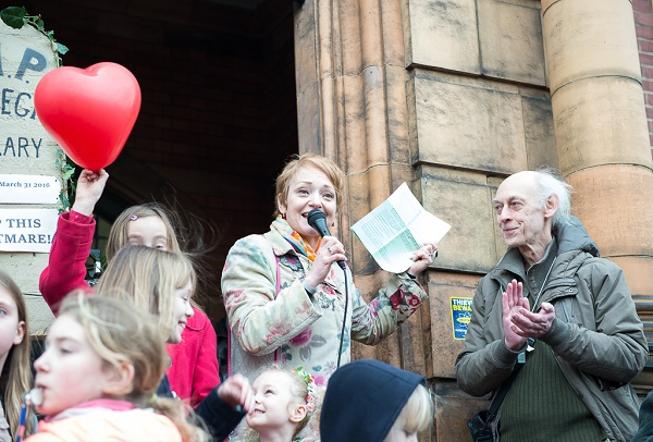 Stella Duffy speaks out for Carnegie Library