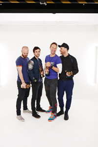 Coldplay at the NME Awards. Photo by Dean Chalkey