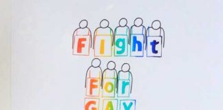 Gay rights poster