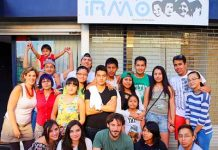 Members of IRMO's youth project