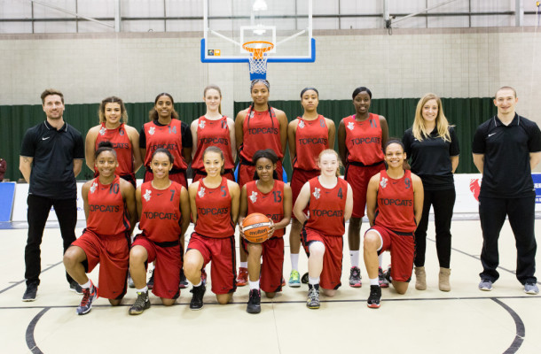 Brixton Topcats Ladies team (Credit: Brixton Topcats)