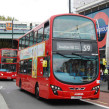 Buses outside Brixton Tube station