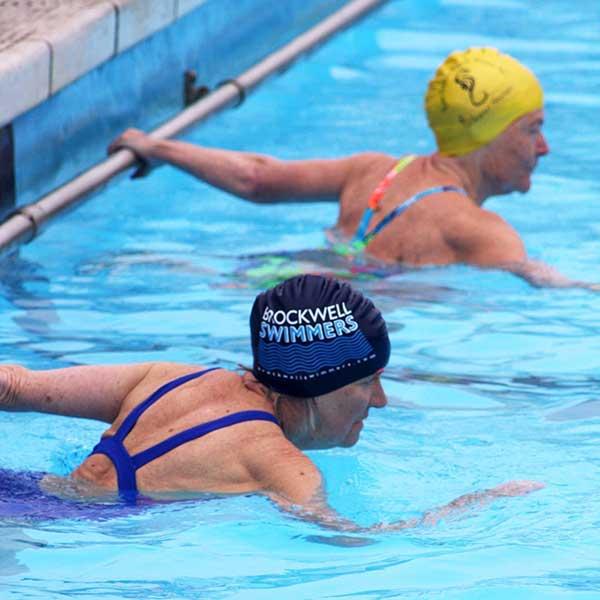 Brockwell women swimmers