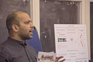 De Vos Architect addresses residents at Cressingham Gardens