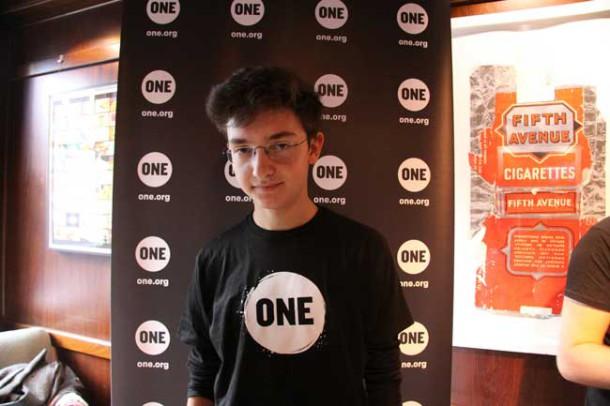 Youth ambassador Jean Franco