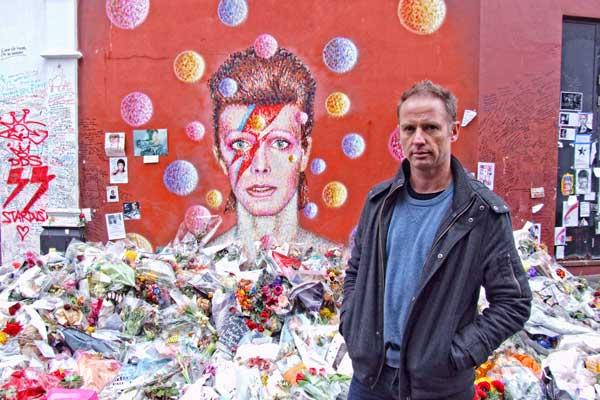 Bowie mural artist Jimmy C