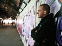 Local poet Ryan J Matthews, aka Ragz-CV