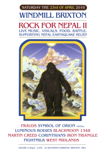 Rock for Nepal