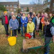 Rosendale tenants at orchard planting