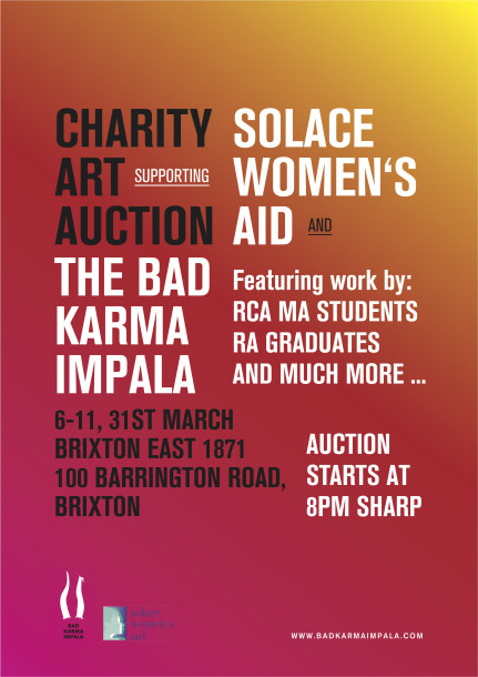 new bad karma impala auction poster