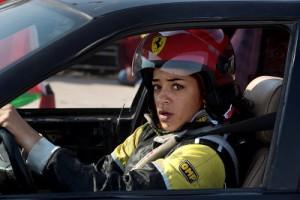 One of the 'speed sisters' Noor Daoud