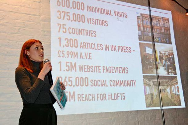 London Design Festival partner co-ordinator Amy Bicknell explains the benefits of Brixton's involvement