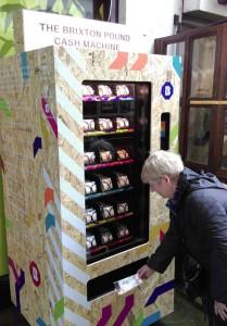 Brixton Pound cash machine