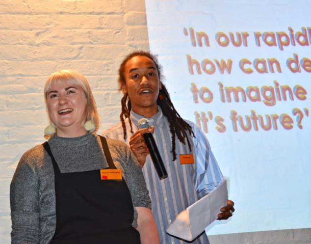 Flo Fairweather and Oscar Taylor explain how young people will be involved