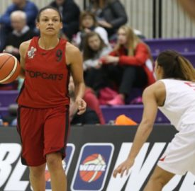 Jenaya Wade-Fray in action for Brixton Topcats (Photo: WBBL)