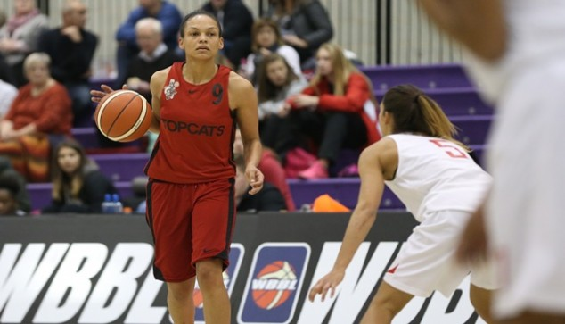 Jenaya Wade-Fray in action for Brixton Topcats (Photo: WBBL)