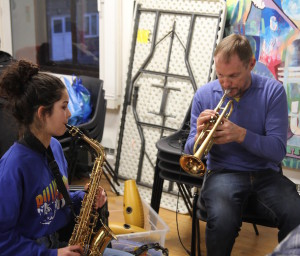 Robin Hopcraft at a Youthsayers session