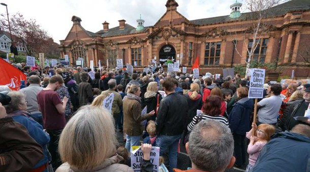 Speeches outside the Carnegie