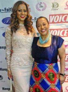 Miranda Brawn (left) Sherry Ann Dixon, founder of the Awesome YOU awards