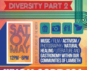 Poster for Loughborough coming together event