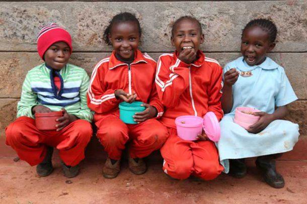 Children in Nairobi school paired with St Judes