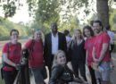 Staff from Lambeth Law Centre with David Lammy MP